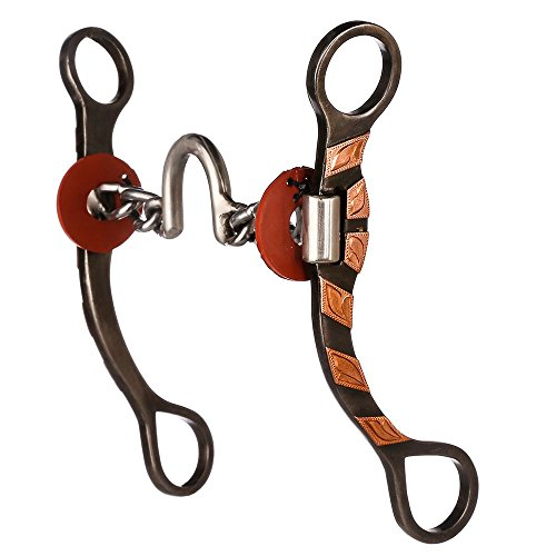 NRS All Around Chain Correction 7 1/4 Cheek 5 Mouth Horse Bit