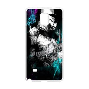Happy Black mysterious man Cell Phone Case for Samsung Galaxy Note4