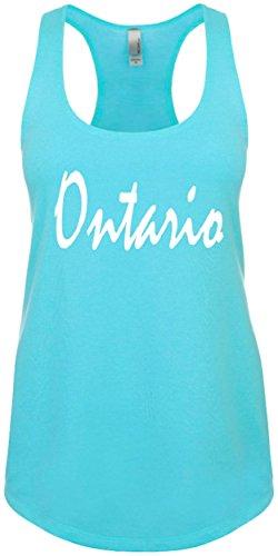 Junior's Funny Tank Top Size 2X (ONTARIO (CANADA, CALIFORNIA) Ladies Novelty - California Ontario Shopping