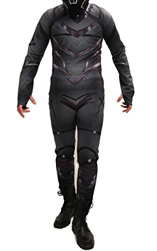 XCOSER Black Panther Costume Zentai for Halloween