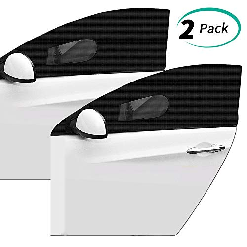 Most Trucks - Allnice Car Window Shade 2 Pack Car Sun Shade Blocking UV Rays Car Mosquito Net Covers Front Side Windows Protects Baby Kids and Pets Fit for Most Cars Trucks and SUVs