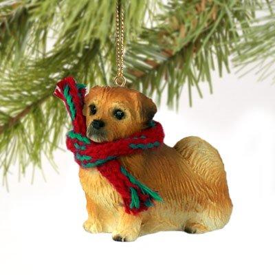 Tibetan Spaniel Miniature Dog Ornament