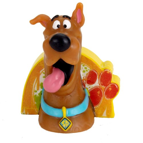 Hallmark Here Comes Scooby-Doo! 'Paint Splatter' Cake Candle (1ct)]()