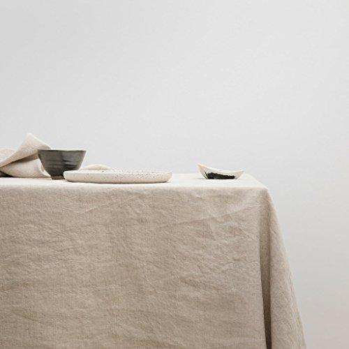 Linen Table Cloth - Natural 60