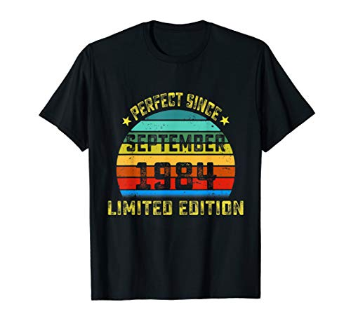 Perfect Since September 1984 Birthday Gift For 35 Yrs Old T-Shirt