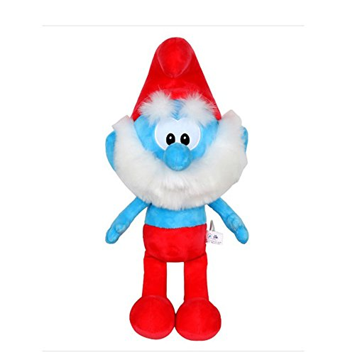 Smurfs Papa Smurf, Stuffed Animals Plush Toy Cute Gift for Kids Room Decoration - Plush Smurf Toys