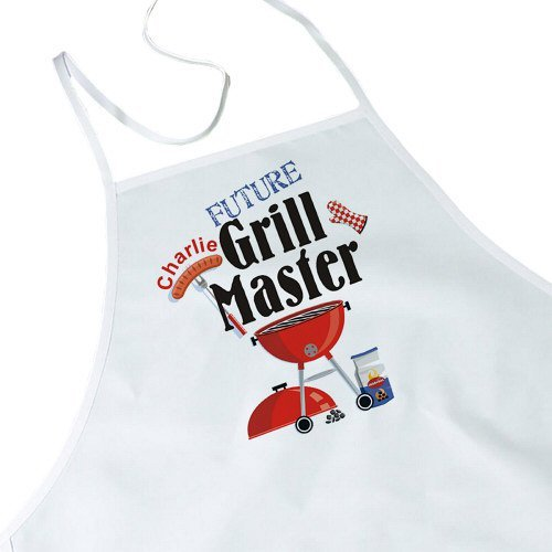 Future Grill Master Personalized Kids Kitchen Apron, 20