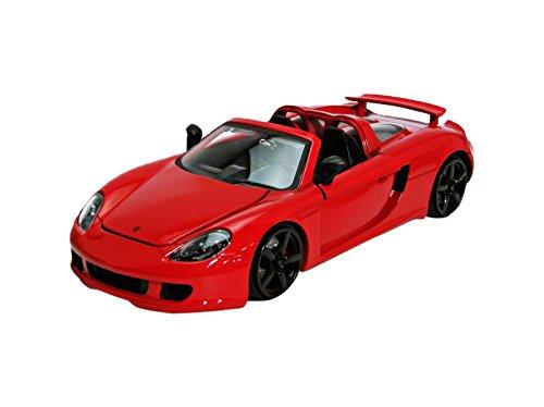 Jada 1/24 Scale 96955 - Porsche Carrera GT - Red