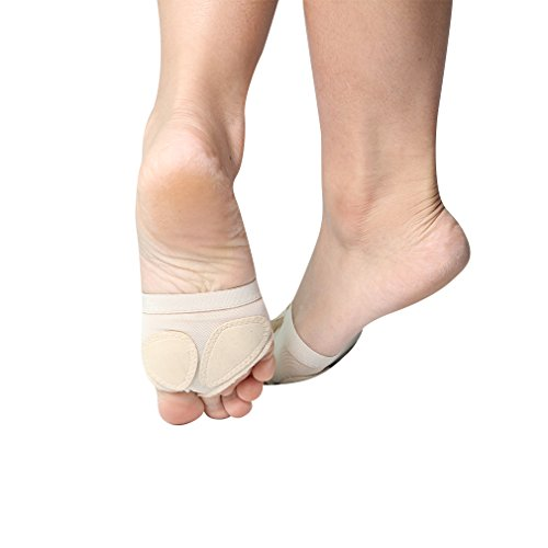 Sole Belly UPRIVER Thong GALLERY Ballet Foot Shoes Nude Half Paw Dance Dance 4vTCw