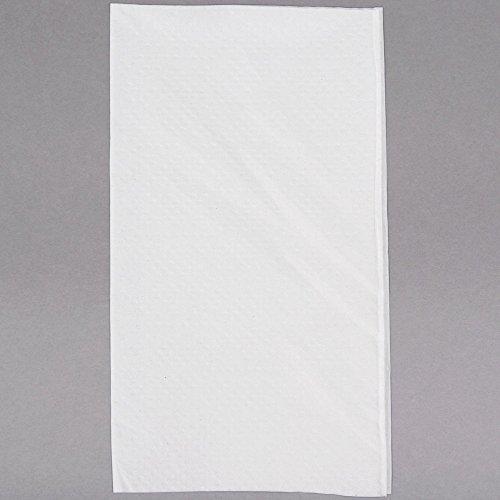 Just1 Interfold White Dispenser Napkin - 6000/Case by Just 1