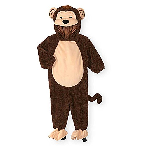 Koala Kids Monkey Baby Boys & Girls Dress Up Plush Halloween Costume 3/6M