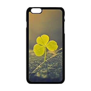 Fresh Clover Fashion Personalized Clear Cell Phone Case For Iphone 6 Plaus