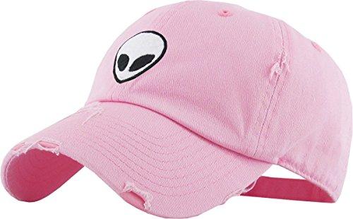 1d420902dda5f KBSV-042 PNK Alien Vintage Dad Hat Baseball Cap Polo Style Adjustable
