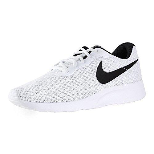 Nike Women's Nike Tanjun White/Black Running Shoes Size 7.5