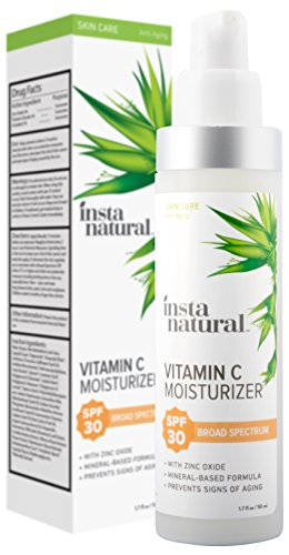 Vitamin C Moisturizer With SPF 30 - Daily Sun Protection For