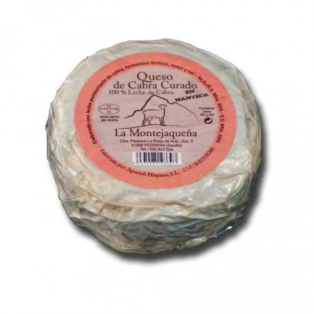 Queso de cabra artesano en manteca
