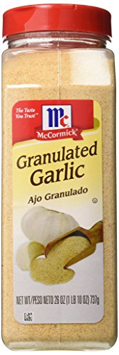 McCormick Granulated Garlic, 26 oz