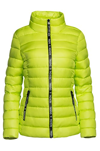 Giallo Trisens Trisens Giacca Giacca Donna Donna Neon F8YHf