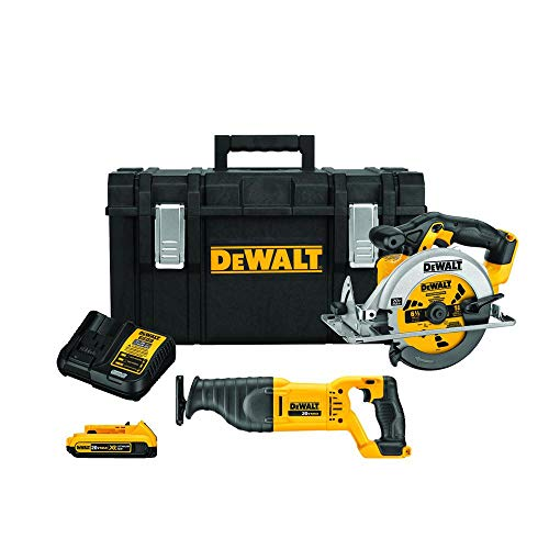 (DEWALT DCKTS253D1 Tool Saw Combo in Tool Box/with Charger & Battery/Brand)