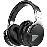 Cowin E-7 Active Noise Cancelling Bluetooth Headphones Wireless with Mic Stereo Headset, Volume Control, 30 Hours Playtime - Black