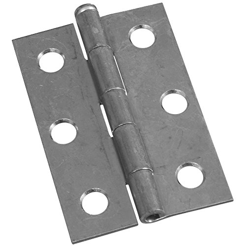 National Hardware N141-945 V508 Removable Pin Hinges in Zinc plated, 2 pack