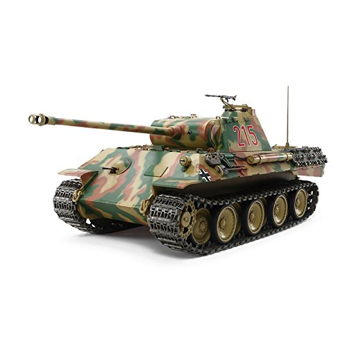 TAMIYA 1/25 SCALE R/C GERMAN TANK PANTHER Ausf.A With CONTROL UNIT (Assembly kit) 56605【Japan Domestic Genuine Products】【Ships from Japan】