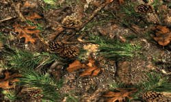 COMBO! Set of (2) - Mixed Pines Door Mats 18x30 - Camo Wecome Mat