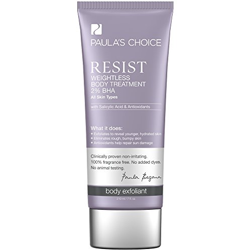 Price comparison product image Paula's Choice--RESIST Weightless Body Treatment 2% BHA with Salicylic Acid and Antioxidants--Normal, Oily, and Dry Skin--1-7 oz Tube