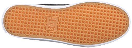 DC - Zapatillas de skateboarding para hombre negro (camuflaje)
