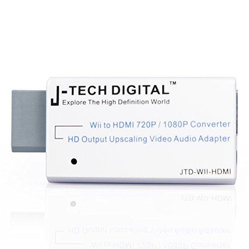 J Tech Digital JTD WII HDMI Converter Upscaling