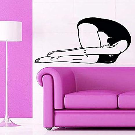 Oferta especial limitada Pegatinas de dibujos animados Yoga ...