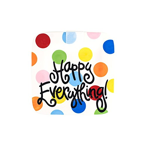 Coton Colors Happy Everything Platter, Mini, Bright Dot