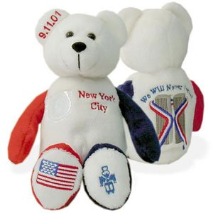 Quarter Bear State Toys Timeless - New York City Memorial Quarter Bear