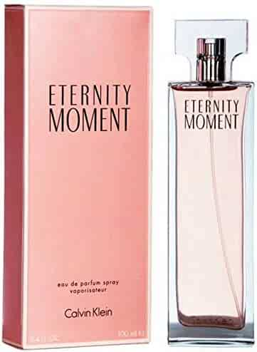 C k Eternity Moment Women Edp Spray 3.4 OZ. / 100 ML.