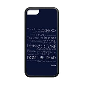 Laser New Technology Custom Sherlock iphone 5/5s iphone 5/5s Cover Case With Tangy-54