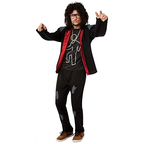 [Sky Blu Party Rock Anthem Costume - Standard - Chest Size 40-44] (Musketeer Costume Female)