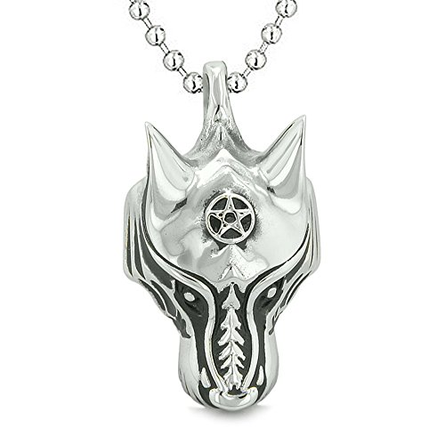 Courage Magical Pentacle Pendant Necklace product image
