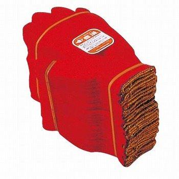 おたふく手袋 #632 国産軍手 豊漁アカ3 12双組×10 B005NLA6JG