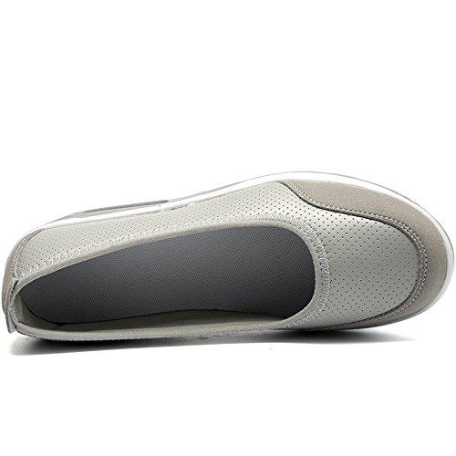 Scarpe casual superficiale Nuovi Scarpe Scarpe grande da Nuovo C dondolo Scarpe a Fondo Estate Scarpe d'aria cuscini Bocca Primavera Infermiera SHINIK spesso Scarpe donna Taglia zZdFxwzpq