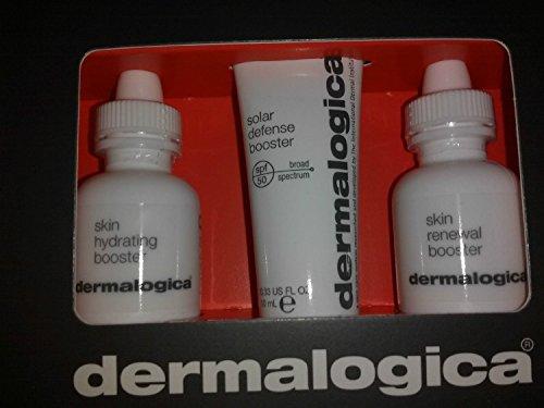 Dermalogica Skin Hydrating Booster 0.33oz Renewal Booster 0.33oz Solar Defense Booster Spf 50 - Hydrating Booster Dermalogica