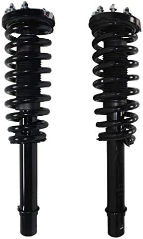 cciyu Complete Struts Shock Absorbers Fits for 2003 2004 2005 2006 2007 Honda Accord 172123L 172123R Quick Struts Assembly Front Pair Struts