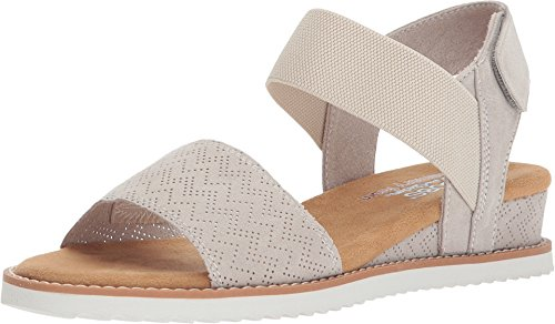 Skechers BOBS from Women's Desert Kiss Off-White 6.5 B US