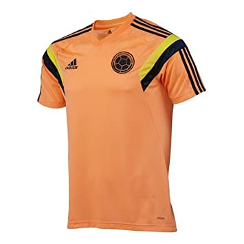 adidas Colombia Home Training Jersey Camiseta Adizero Selección Colombia  (L)  Amazon.co.uk  Sports   Outdoors 8d967b1d9
