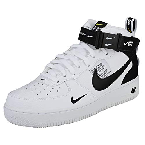 Multicolore Nike Homme Mid '07 Air tour Basketball Chaussures white Force 1 De black Lv8 103 Yellow zavUyvqc