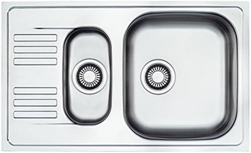 BLANCO TIPO 45 S mini Sp/üle Edelstahl Leinen