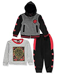 Mad Game Boys' 3-Piece Pants Set Outfit