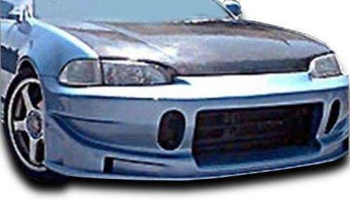 Honda Civic 2DR / 3DR 1992-1995 BC Spec Style 1 Piece Polyurethane Front Bumper manufactured by KBD Body Kits. Extremely Durable, Easy Installation, Guaranteed Fitment and Made in the ()