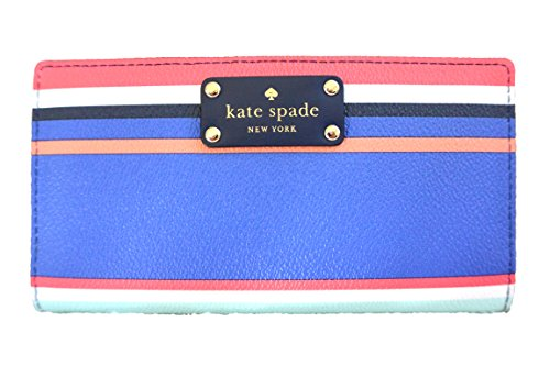 Kate Spade Striped Handbags - Kate Spade New York Wellesley Printed Stacy (Tropical Stripe)