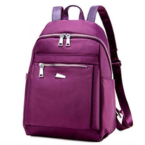 Ladies shoulder bags,borsa di tela,scuola borse-porpora piccolo