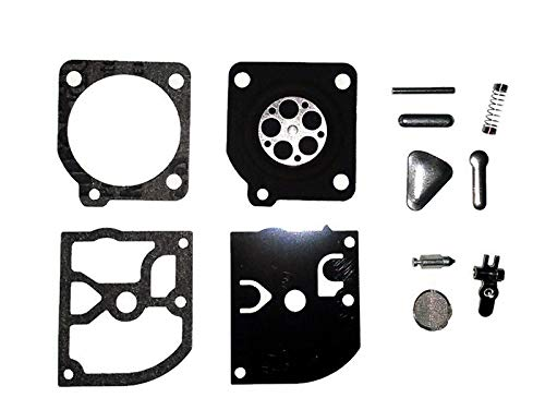 - Carburetor Carb Repair Rebuild Kit for Husqvarna 136 137 141 142 with Zama Carburetors Replaces Zama RB-38 and RB38